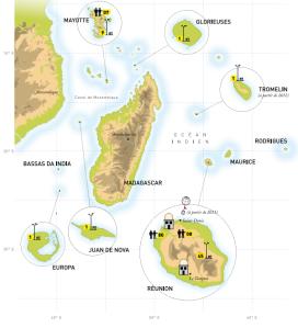 Météo France dans l'Océan Indien
