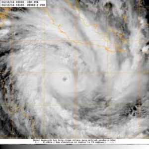 Le cyclone ITA présente une structure parfaitement symétrique